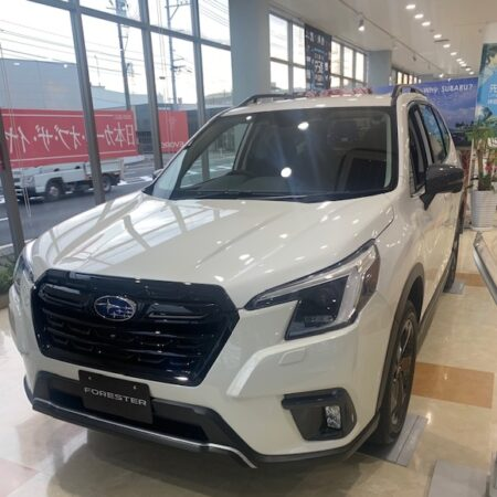 NEW FORESTER 周南店に登場!!